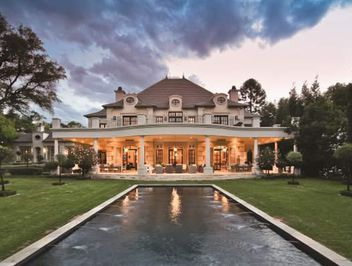 This 4446m2 #luxury #Sandhurst #estate screams grandeur. Note the 20-seater dining room.
