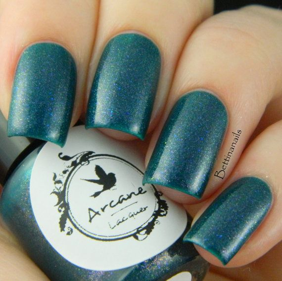 Just A Phase  Redefine  Arcane Lacquer  Nail by ArcaneLacquer, $9.50