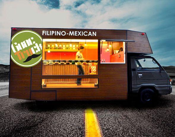 C'est à Manille aux Philippines que l'on peut apercevoir le Guactruck, camion transformé pour vendre de la nourriture philippo-mexicaine et équipé de LED pour une économie d'énergie d'éclairage. Le véhicule est un Mitsubishi L300 rénové avec style et élégance, l'extérieur comme l'intérieur ont été revêtus de bois.