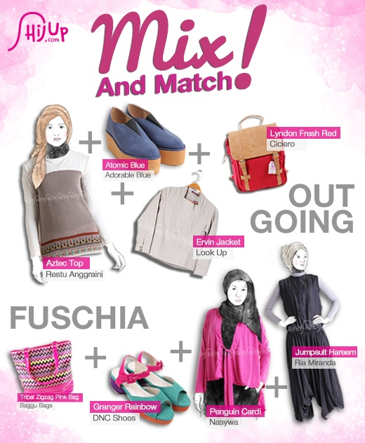 #Mix Outgoing and Fuschia http://tmblr.co/Zds7XvkM0Zn5 #FashionTips #StylingTips