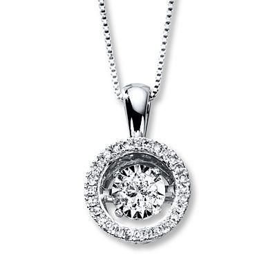 This Diamonds in Rhythm necklace will dazzle any mom.