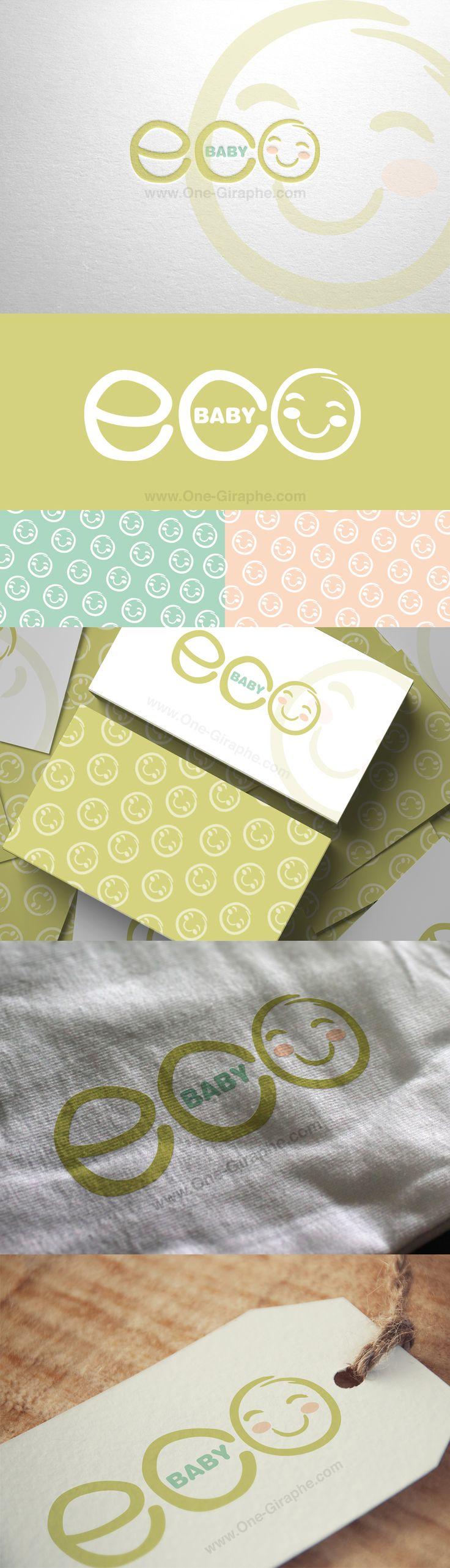 #baby #logo #design #children #kids #logodesign #eco #green #organic #brandidentity Portfolio http://one-giraphe.com/prev.php?c=113