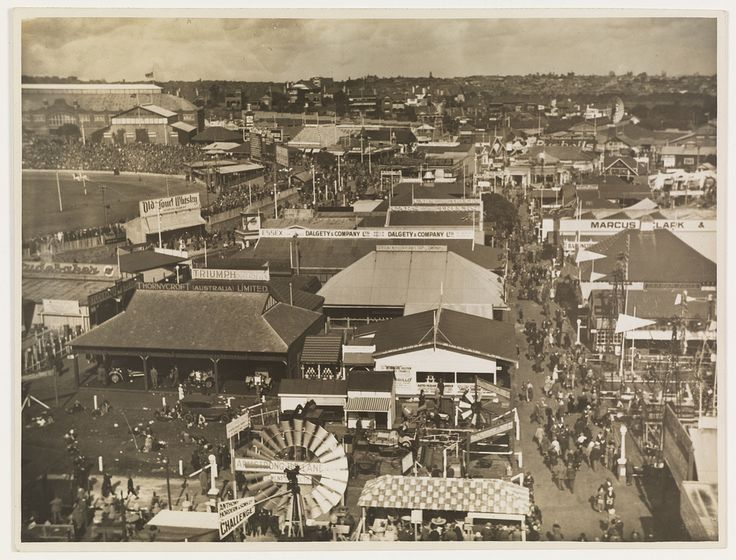 Views of the Sydney Showground, pavilions and crowds, c. 1930s, by Sam Hood | Flickr - Photo Sharing!.ve.