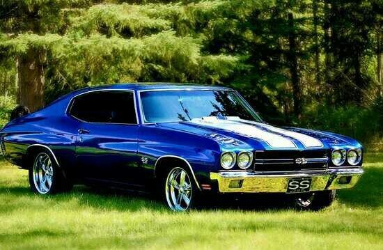 1970 Chevrolet Chevelle SS With The 454 Cui Big Block