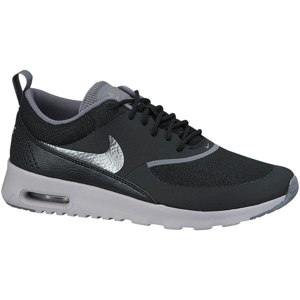 Nike Air Max Thea Premium Women's Cross Trainers ($73) ❤ liked on Polyvore featuring shoes, nike, cross trainer shoes, cross training shoes, breathable shoes, light weight shoes and synthetic shoes