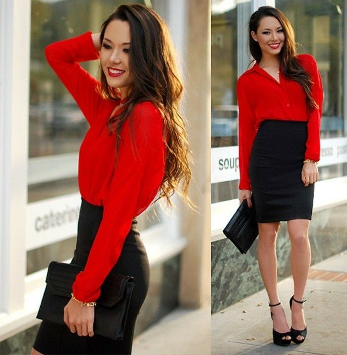 25 best ideas about red pencil skirts on pinterest red. Black Bedroom Furniture Sets. Home Design Ideas