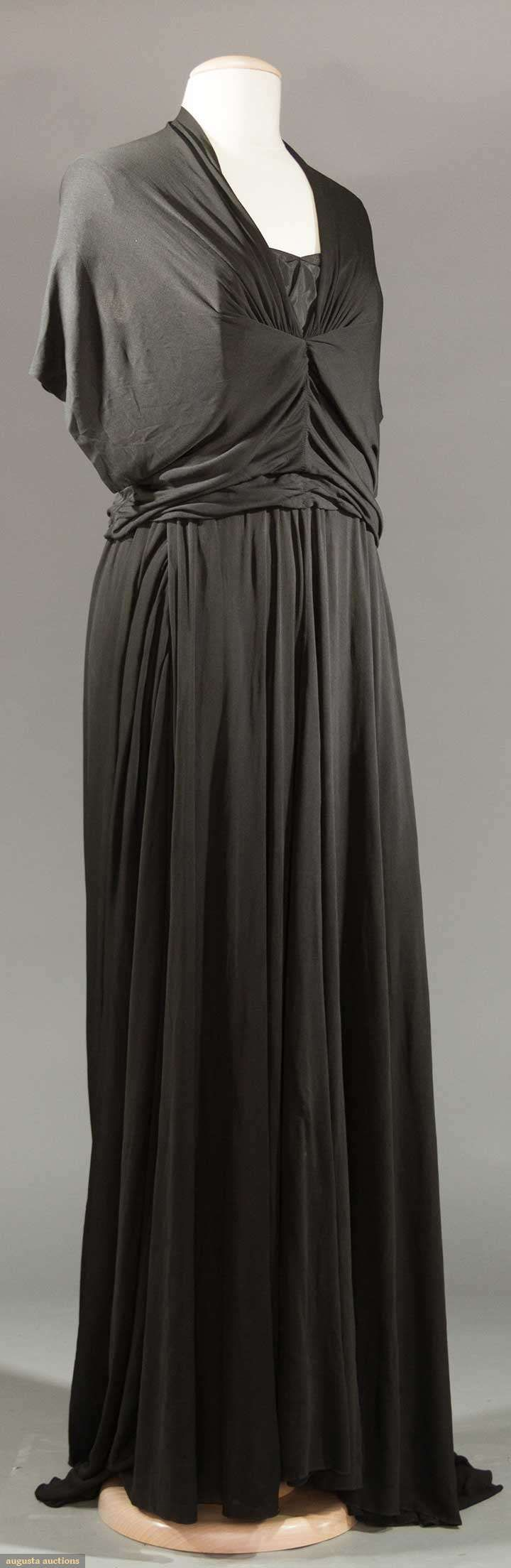 MOLYNEUX EVENING GOWN, c. 1938