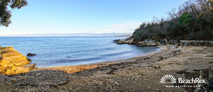 Beach Glavotok - Brzac - Island Krk - Kvarner - Croatia