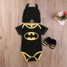 Newborn Toddler Baby Boys Long sleeve Clothes Romper Playsuit Shoes Hat Outfits Set(China (Mainland))