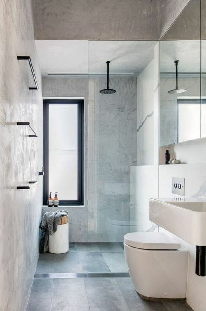 1064 best images about salle de bain on pinterest - Tres petite salle de bain ...