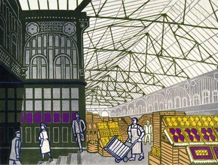 Edward Bawden - Covent Garden