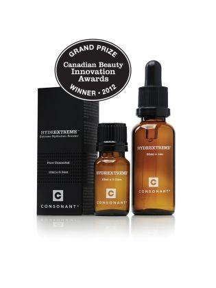 Consonant HYDREXTREME Skin Hydration Booster   Grand Prize Winner- Canadian Beauty Innovation Awards 2012  (http://www.sessabeldispensary.com/consonant-hydrextreme-skin-hydration-booster/)