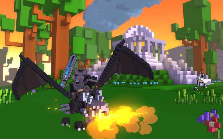 Trion Worlds voxel-based MMORPG Trove is now in free open beta on Xbox One and PlayStation 4.