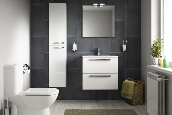 Think you haven't got space for a statement bathroom? Think again with @IdealStandardUK.