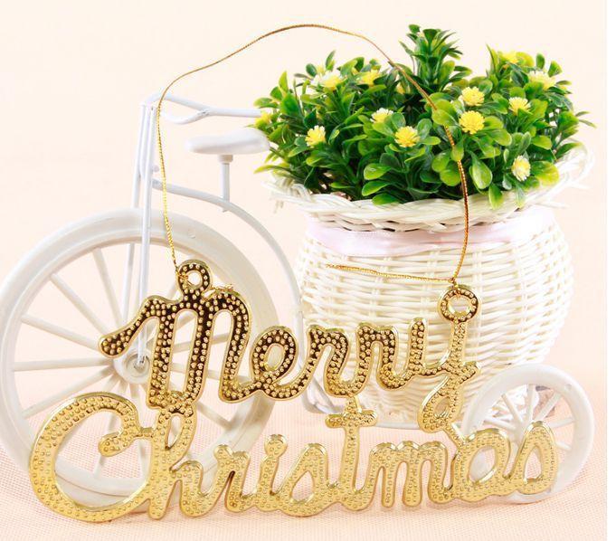 Дешевое Рождественская елка с рождеством христовым слово на открытом воздухе…