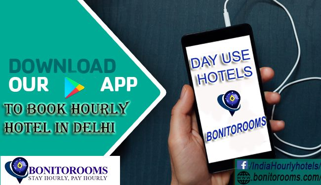 """Now download the """"Bonitorooms"""" App from google Play store and #Book #hourly #hotel in #delhi https://play.google.com/store/apps/details?id=com.datswoww.bonitorooms&hl=en"""