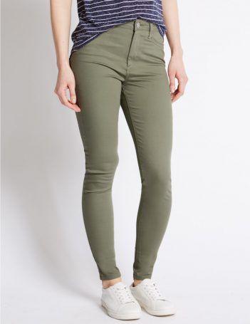 Super eng geschnittene Jeans mit fünf Taschen