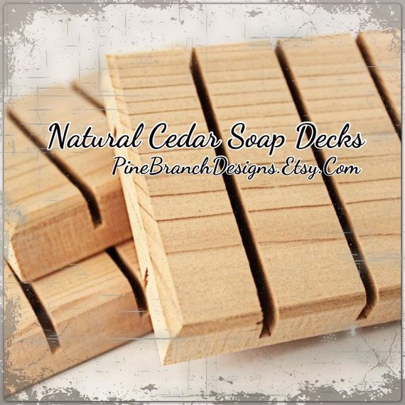 Hey, I found this really awesome Etsy listing at https://www.etsy.com/listing/77720853/cedar-soap-decks-50-pieces-wholesale