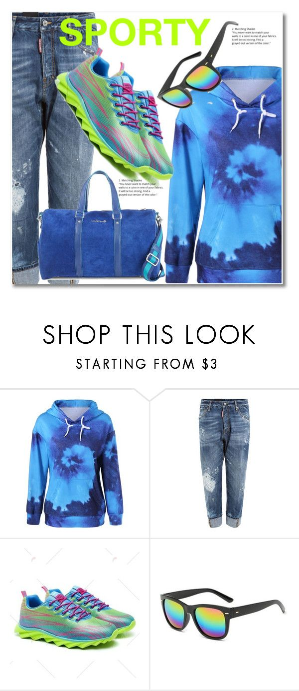 """""""Untitled #2581"""" by svijetlana ❤ liked on Polyvore featuring Dsquared2, Robert Graham, men's fashion and menswear"""