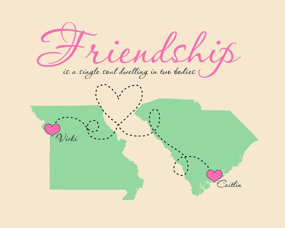 Friendship Quote, Gift For Best Friend