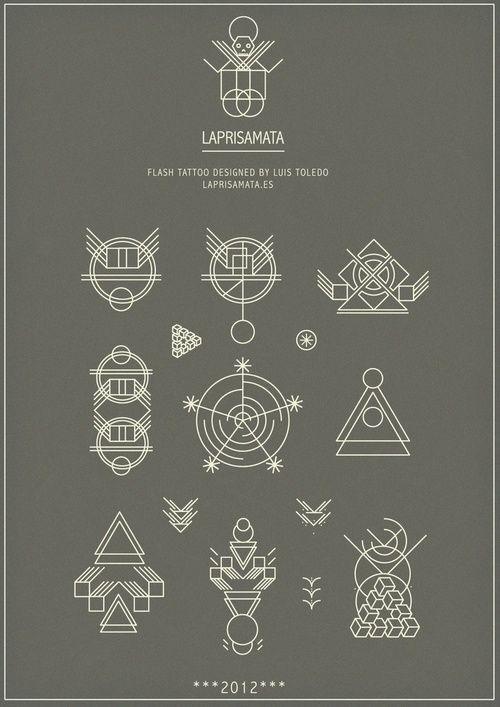 (21) geometric tattoo | Tumblr: