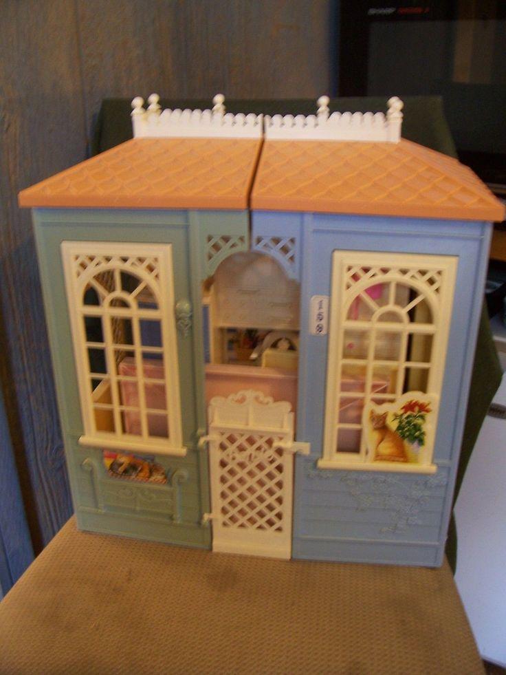 Barbie Family Dream House Folding House By Mattel 1998
