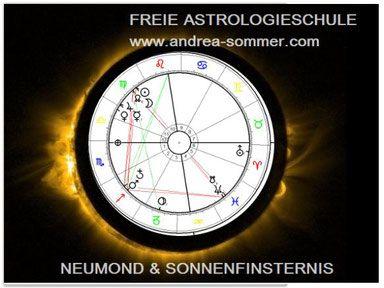 Schattentor - Neumond & Sonnenfinsternis - Astrologieschule und Wiener…