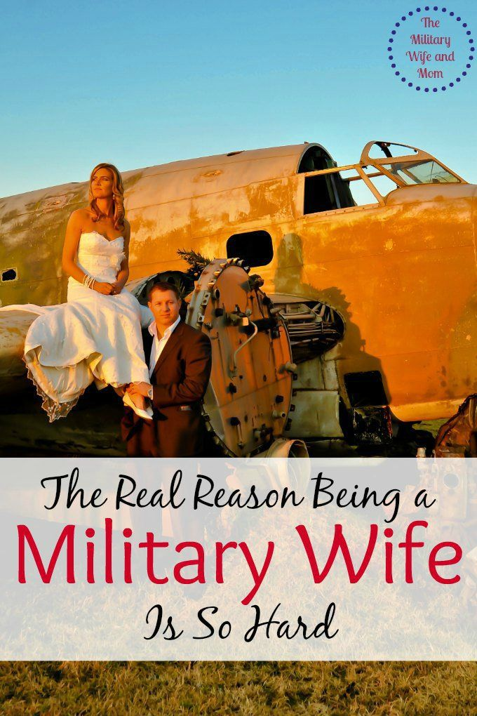 Pretty good blog article that explains some of the challenges of being a military wife. ---The real reason being a military wife is so hard! So true!