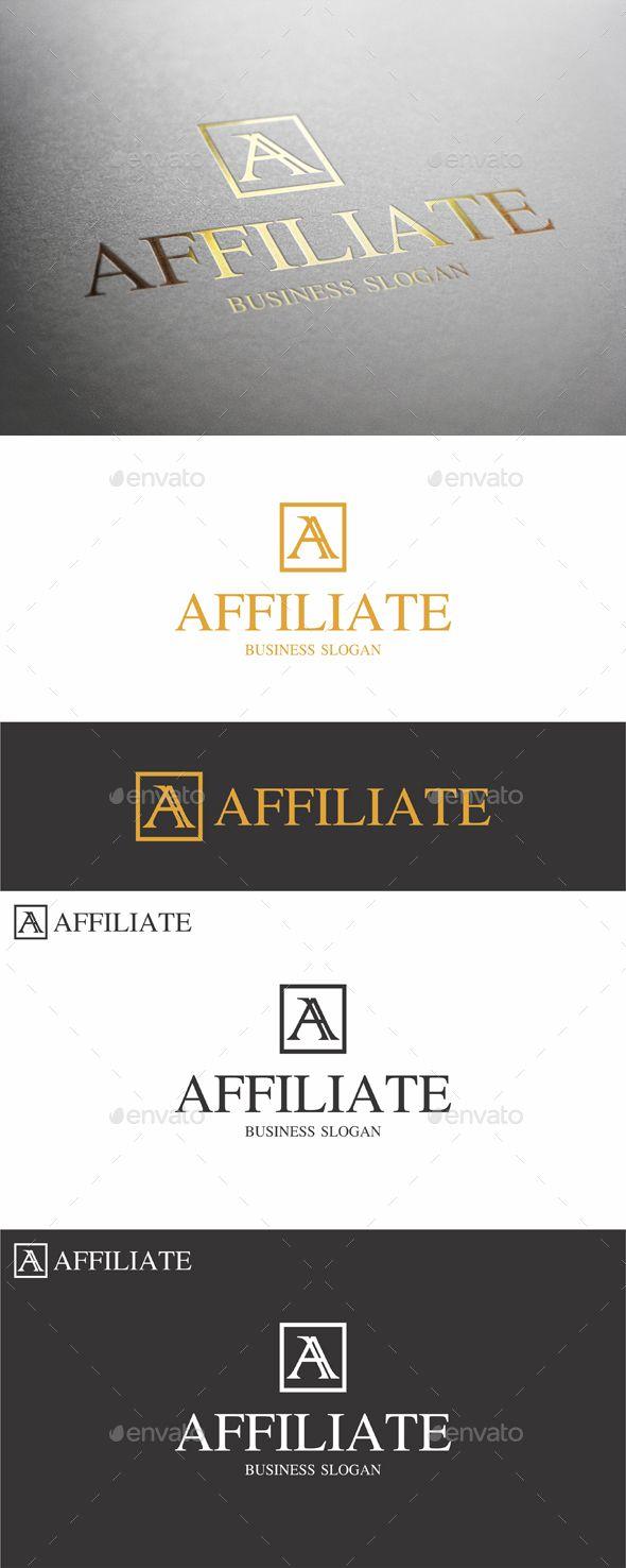 Affiliate A Letter Logo 121 best