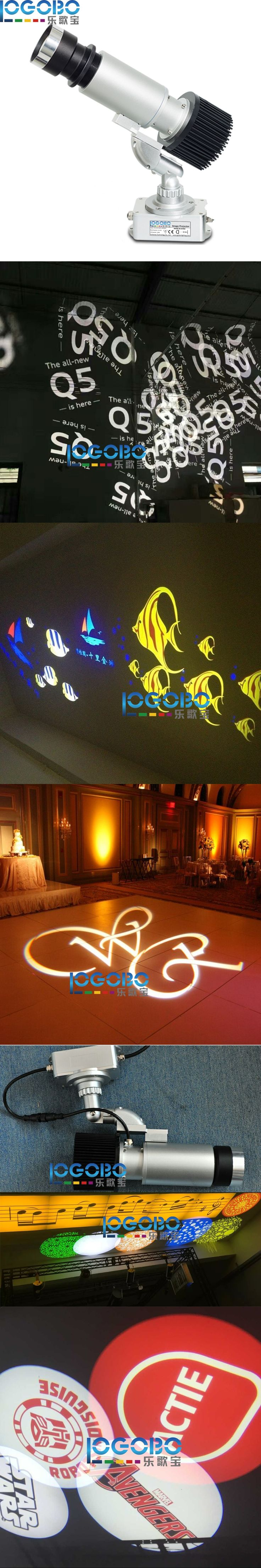 Free Shipping Cheap Outdoor 30W Osram Led Gobo Projectors for Advertising DJ Party Event Waterproof Logo Projection Effect Light