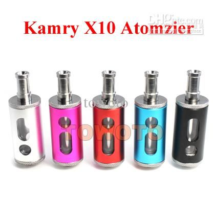 Wholesale Cigarette Atomizer - Buy E Cigarette Atomizer Kamry X10 Atomizer Tank Clearomizer X10 Atomizer for EGo EGo-C EGo-W EGo-T Electronic Cigarette E-Cig Battery TOWOTO, $5.19 | DHgate