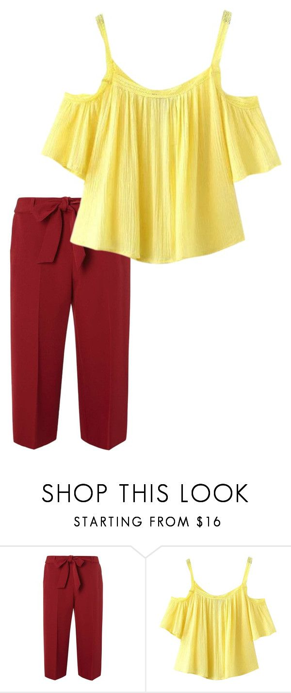 """#3 2цвета"" by olesya-garifulina on Polyvore featuring Dorothy Perkins and Chicnova Fashion"