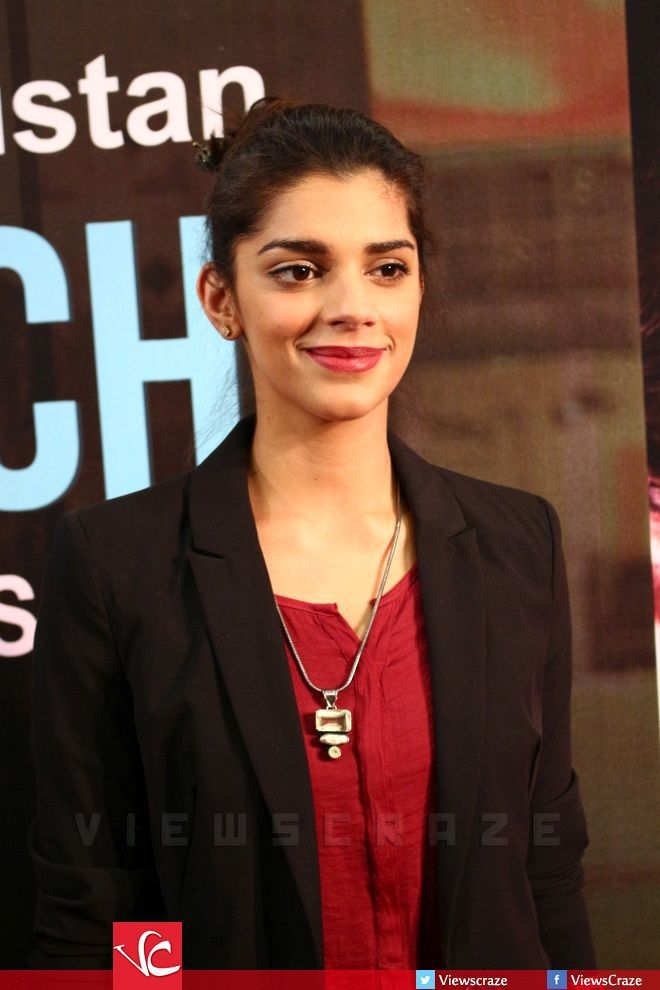 Sanam Saeed at the movie premiere of Good Morning Karachi