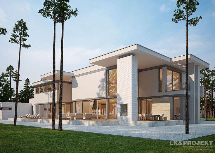 Projekty domów LK&Projekt LK&1104 wizualizacja 7