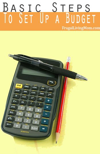 Don't know how to set up a budget?  It's not hard, learn the steps.  #budget #savemoney