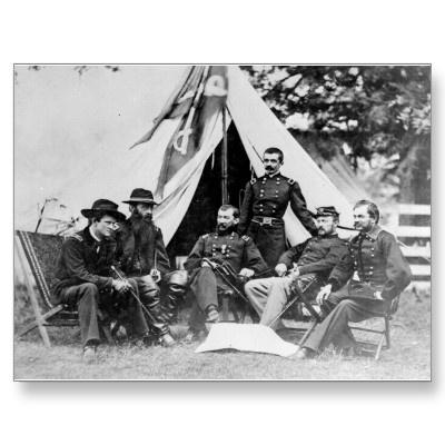 Maj. Gen. Philip Sheridan and his generals 1864