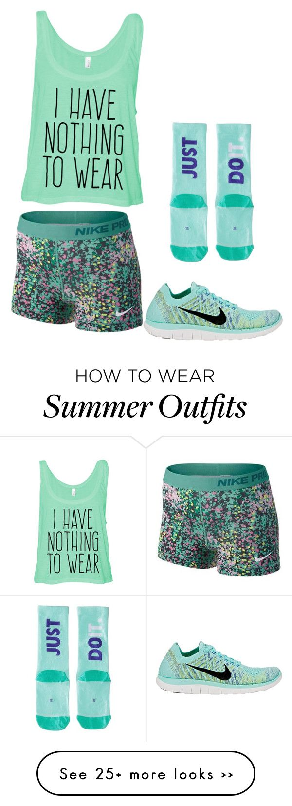 """""""Volleyball Outfit"""" by regan-bruns on Polyvore"""