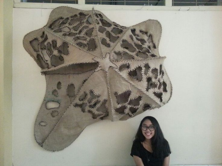 #Nirmana #biomimicry #nirmana3D #sarangrayap #binus #desaininterior #teamwork ♡