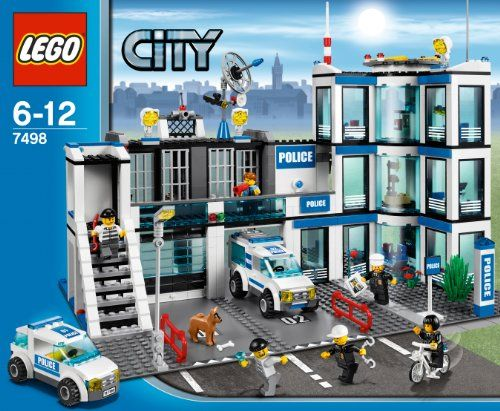 LEGO Police Station 7498 http://www.bestdealstoys.com/lego-police-station-7498-2/