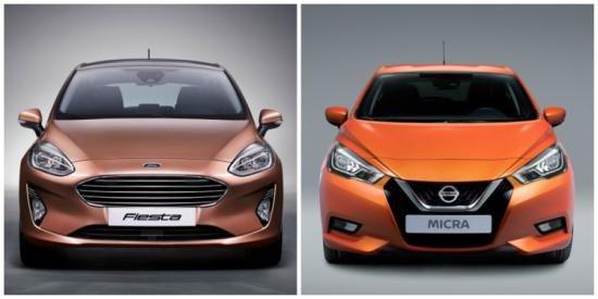 Lease maar: Ford Fiesta of Nissan Micra