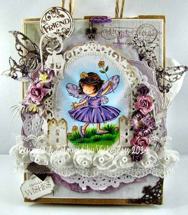 LOTV - Flower Fairy altered gift bag