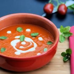 Paprika-Tomaten-Suppe