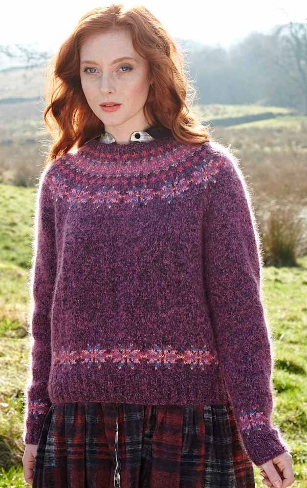 19 best F for Fair Isle images on Pinterest | Knitting stitches ...