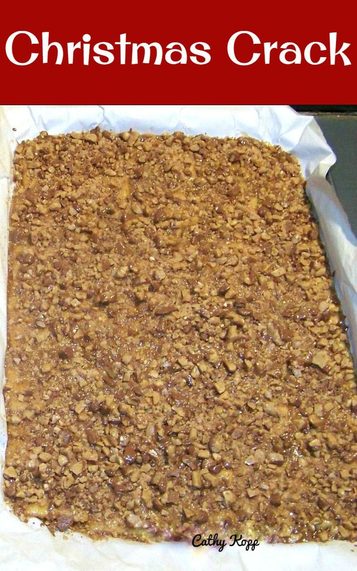 Christmas Crack. If you've never tried this you're missing out! Really easy recipe and always a hit at home! This is well... simply delicious! This recipe has been generously shared by Cathy Kopp. Cathy tells me she used the basics from  a recipe she saw at Mommy's Kitchen and has also kindly added a few notes and tips along the way of how she made this recipe so everyone can make this! Prep Time: 10 minutes Cook Time: 5 minutes Serves: 16 inch x 11 inch tray Ingredients: 1 1/2 sleeves…