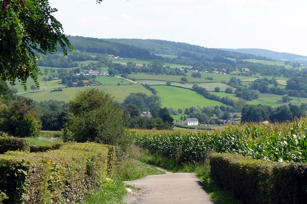 Epen (Limburg), The Netherlands Sure enough we have SOME hills in the Netherlands, if you search really well