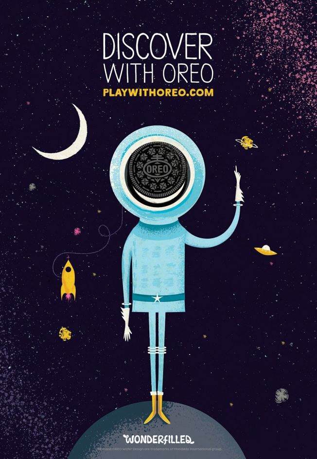 Oreo Gets 10 Artists to Produce Beautifully Dreamy Outdoor Illustrations | Adweek