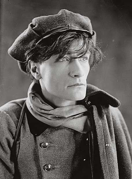 Antonin Artaud in Le Juif Errant by Luitz-Morat 1926