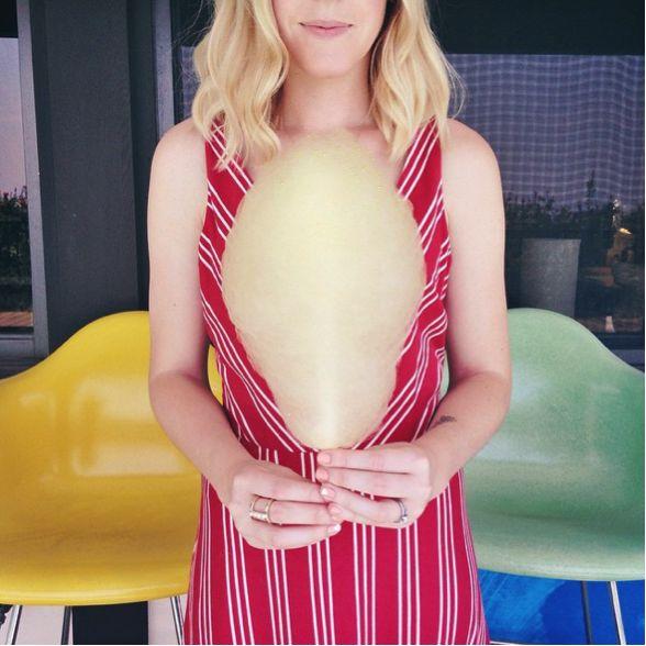 Lauren conrad striped maxi dress
