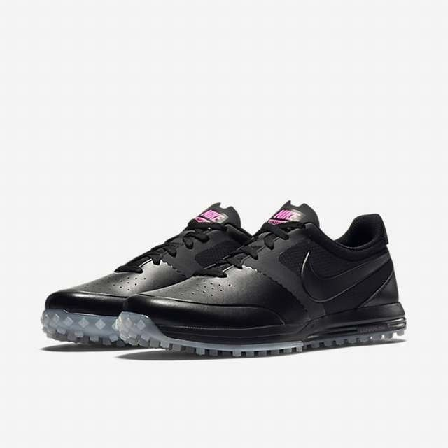 Nike 652530005 Lunar Mont Royal Black Pink Golf Shoes Men Size 13