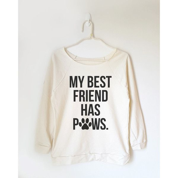 My Best Friend Has Paws Shirt Saying Shirt Teen Shirt Funny Cat Tshirt... ($22) ❤ liked on Polyvore featuring tops, black, sweatshirts, women's clothing, checkered pattern shirt, off the shoulder shirts, checkered top, check pattern shirt and checkered shirt